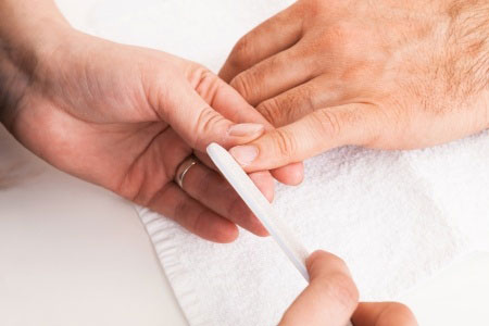 male manicures & pedicures, Birmingham beauty salon