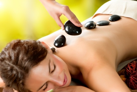 hot stone massage, Birmingham beauty salon