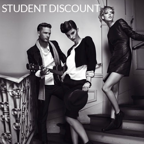 Student Discount – 15%