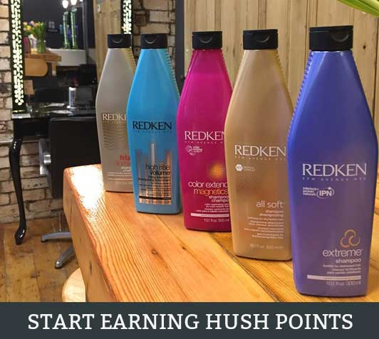 Start Earning HUSH Points