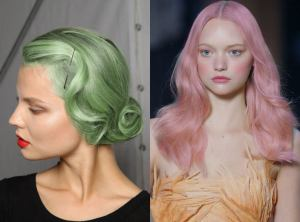 pastel hair colour trends, hush hairdressers in Birmingham