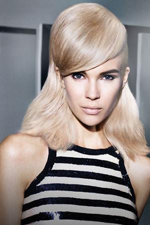 Platinum Blonde & Silver Grey Hair Colour