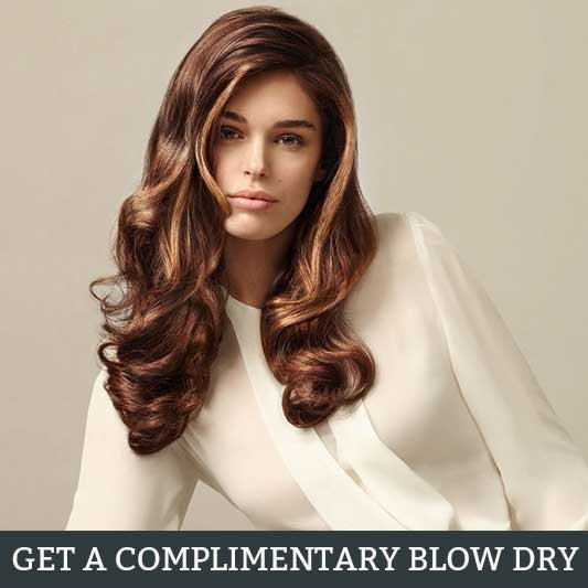Complimentary Blow Dry with Any Facial or Massage