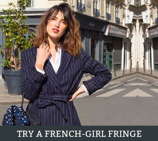 Oh La La: Why You Need To Try A French-Girl Fringe