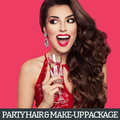 Party Hair & Make-Up Package at the Style Bar Plus