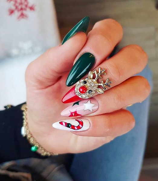 Christmas Nails – Ideas & Inspiration from HUSH