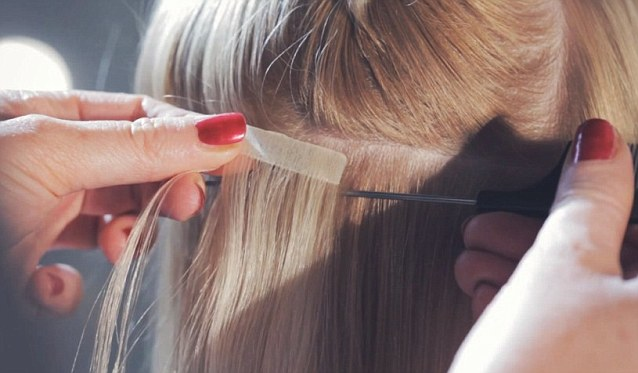 tape hair extensions Birmingham