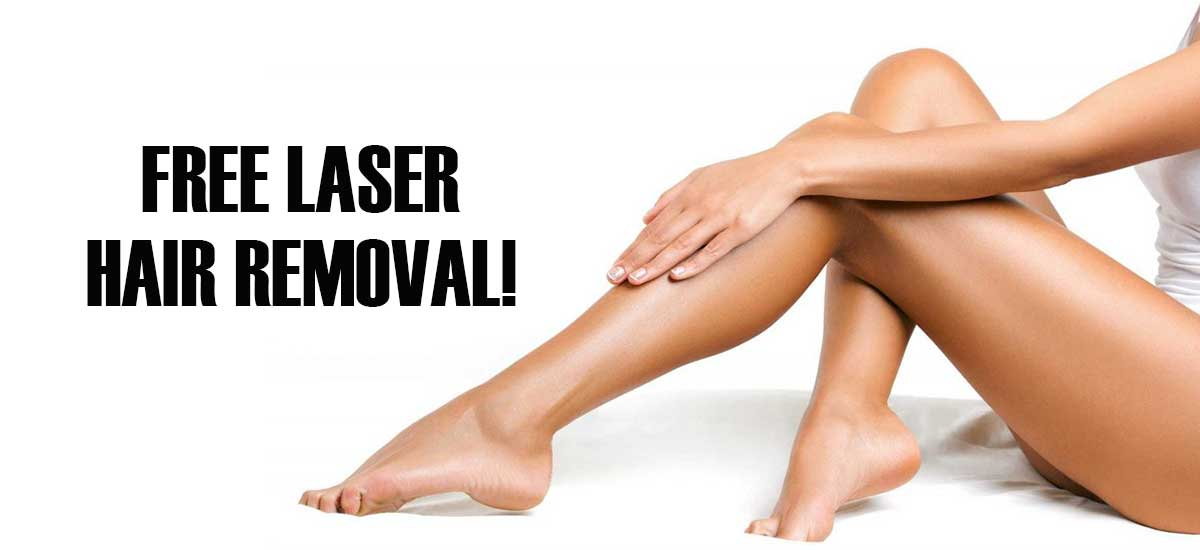 FREE Laser Hair Removal Offer