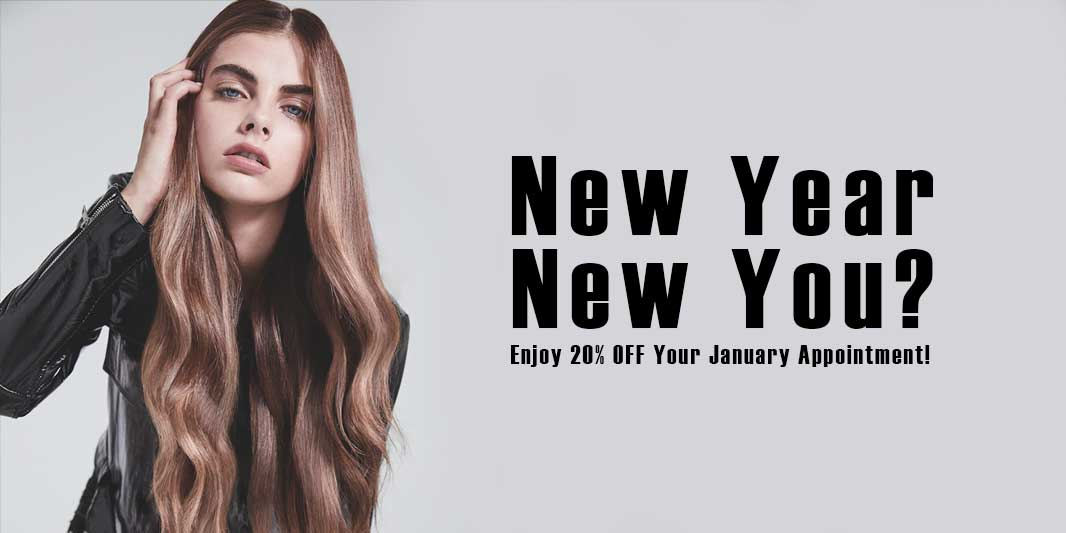new year new you Hush Hairdressing Birmingham West Midlands