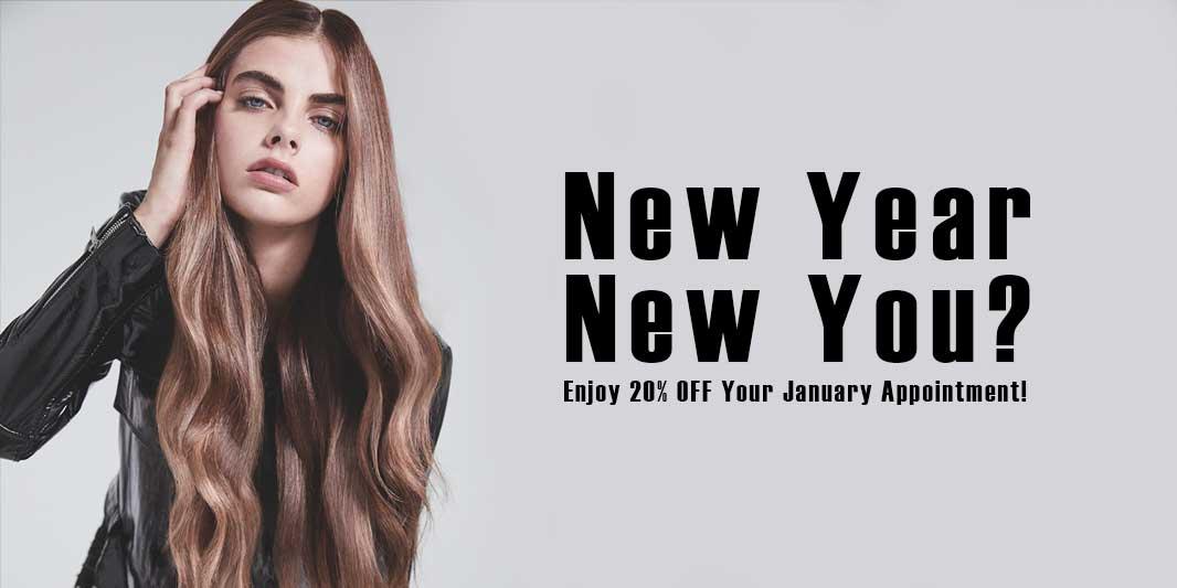new year new you Hush Hairdressing Birmingham West Midlands