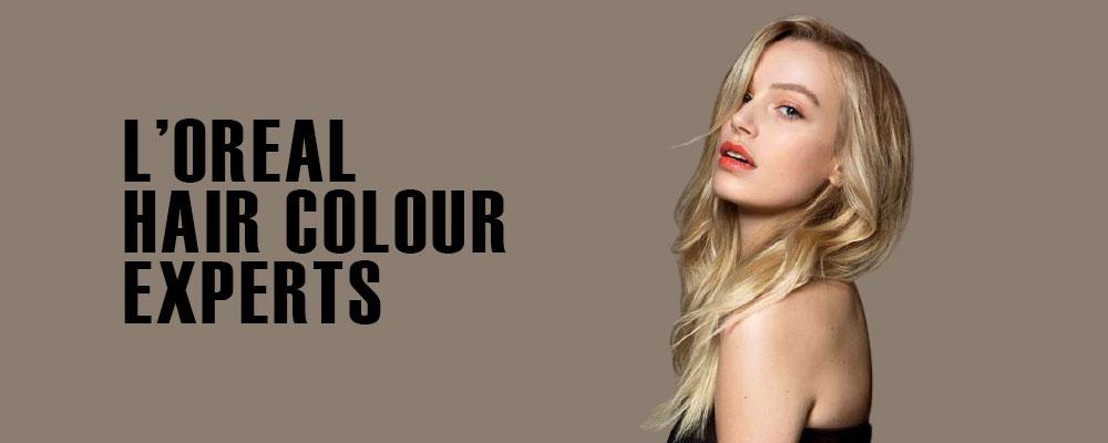 LOreal Hair Colour Experts banner